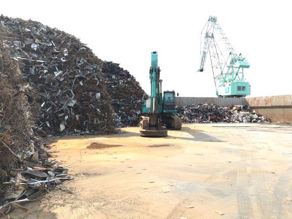 株式会社NEWSCONの尼崎港(鉄スクラップ)集荷ヤードを拡張しました