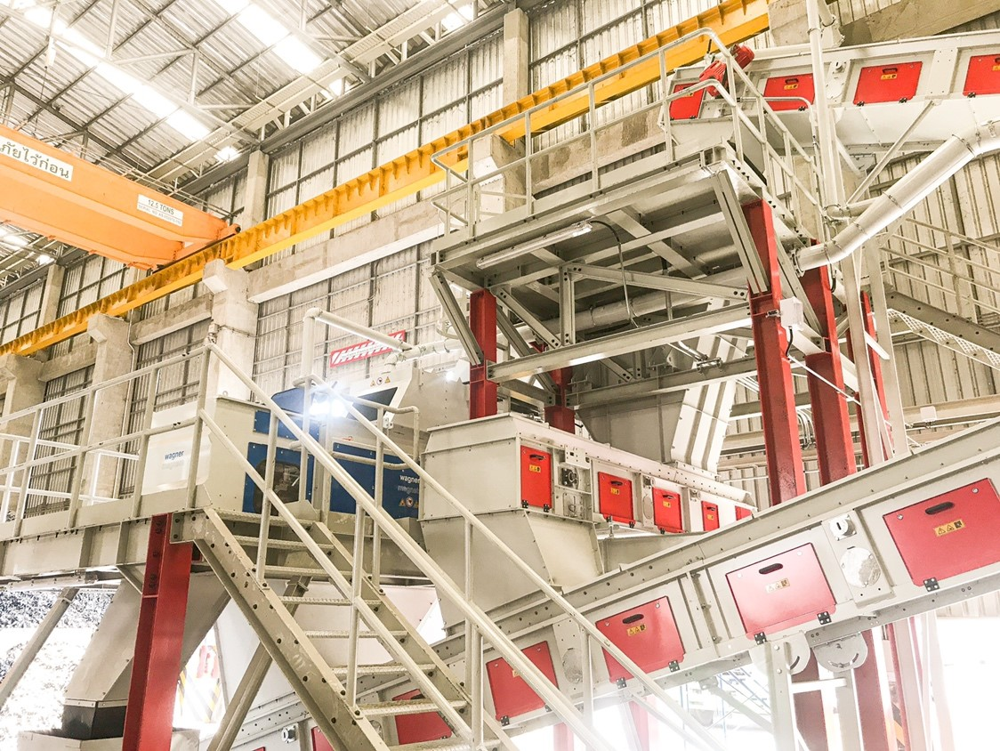 当グループの株式会社アビヅが、タイで電気・電子機器廃棄物(WEEE)のリサイクルシステムを構築、実証運転を開始しました